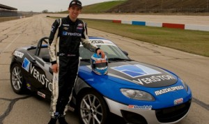 Devin Jones will race in the SCCA Pro Racing Mazda MX-5 Cup this year for C.J. Wilson Racing.