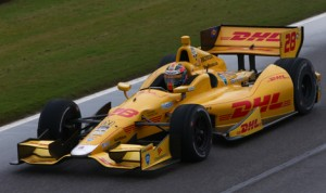 Ryan Hunter-Reay delivered in a big way for Andretti Autosport Sunday afternoon at Barber Motorsports Park. (IndyCar Photo)