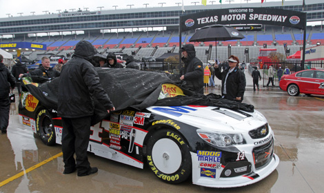 NASCAR has postponed the Duck Commander 500 until Monday at Noon ET. (HHP/Alan Marler Photo)