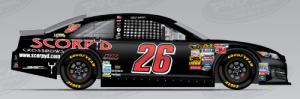 Scorpyd Crossbows will sponsor the No. 26 BK Racing Toyota driven by Cole Whitt in two races.