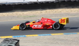 Frenchman Franck Montagny will drive the No. 26 Honda for Andretti Autosport in the Grand Prix of Indianapolis on May 10 at Indianapolis Motor Speedway. (Ron McQueeney photo)