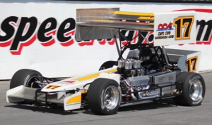 Former ISMA Supermodified feature winner at Oswego Speedway, Ben Seitz, will be ready for action on Saturday at the Steel Palace in the Bien Racing No. 17.  (Mike Johnson)