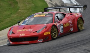 Nick Mancuso earned the GT class pole during Pirelli World Challenge qualifying Friday at Barber Motorsports Park. (Al Steinberg Photo)