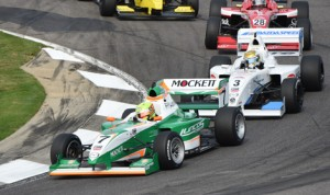 Spencer Pigot leads the Pro Mazda Championship field Sunday at Barber Motorsports Park. (Al Steinberg Photo)