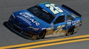 Cole Whitt, pictured driving for Swan Racing on Feb. 15 in practice for the Daytona 500, will have a new ride with BK Racing. Swan Racing announced the sale of its two teams to separate owners on Wednesday. (NASCAR via Getty Images)