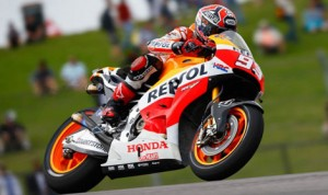 Marc Marquez led both MotoGP practice sessions Friday at Circuit of the Americas in Austin, Texas. (MotoGP Photo)