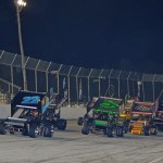The Must See Racing Xtreme Sprint Series field goes racing Friday at Five Flags Speedway. (Chris Seelman Photo)