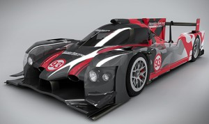 The all-new HPD ARX-04b LMP2 Coupe. (Photo: Honda)
