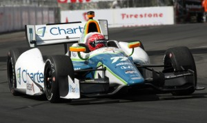 Simon Pagenaud is in the hunt for the 2014 Verizon IndyCar Series Championship. (IndyCar Photo)