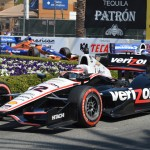 Will Power leads the Verizon IndyCar Series field during Sunday's Toyota Grand Prix of Long Beach. (IndyCar Photo)