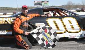 Mike O'Sullivan won Sunday's Granite State Pro Stock Series feature at Thompson (Conn.) Speedway Motorsports Park. (Jim Dupont Photo)