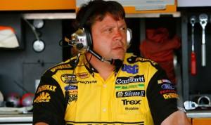 Robbie Reiser during his time as Matt Kenseth's Sprint Cup crew chief. (NASCAR Photo)