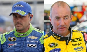 NASCAR has penalized Casey Mears (left) and Marcos Ambrose (right) after the two were involved in a post-race altercation Saturday at Richmond (Va.) Int'l Raceway. (HHP Photos)