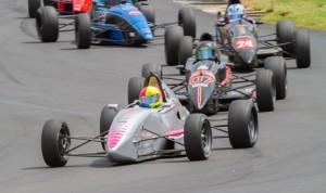 Jim Goughary leads the F1600 Formula F Championship Series field Sunday at Road Atlanta. (F1600 Photo)