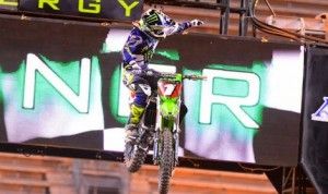 Ryan Villopoto claimed his fifth Supercross win of the season Saturday in Seattle. (Simon Cudby photo)