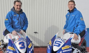 The British Championship winning Smiths Triumph team will make its debut at the Isle of Man TT Races, fielding Gary Johnson and Michael Rutter.