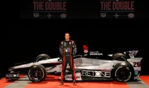 Suretone Entertainment is going to sponsor Kurt Busch's Indianapolis 500 attempt. (Andretti Autosport Photo)