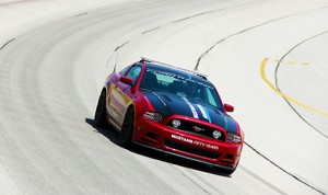 With the Aluminator XS crate engine and a mix of parts from the Ford Racing Boss 302S and the Cobra Jet programs, it makes 500 horsepower. (Ford Photo)