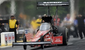 Spencer Massey scored his first NHRA Top Fuel victory of the year at Atlanta Dragway. (NHRA Photo)