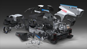 Nissan's new electric technology will be on display during this year's 24 Hours of Le Mans race. (Nissan photo)