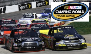 Camping World will stay on as NASCAR's title sponsor for its Truck Series through 2022. (HHP/Greg Ellman photo)
