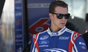 Trevor Bayne will move full-time to the NASCAR Sprint Cup Series next year in the No. 6 for Roush Fenway Racing with sponsorship from AdvoCare. (HHP/Christa L. Thomas Photo)