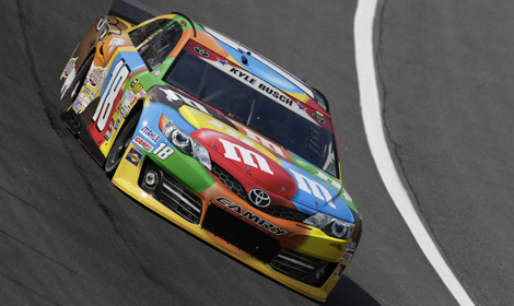 Kyle Busch Forced To Backup Car Speed Sport