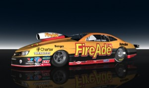 FireAde will serve as primary sponsor of Shane Gray's Chevrolet Camaro in the NHRA Pro Stock division at select NHRA Mello Yello Drag Racing Series events this year.