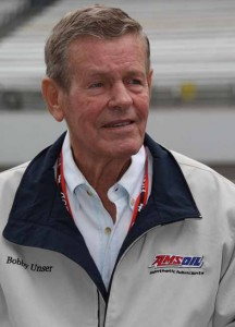 Bobby Unser has entered the oval high-speed exhibition races during their June 6-8 Brickyard Invitational vintage race meet at Indianapolis Motor Speedway (IMS). (IndyCar Photo)