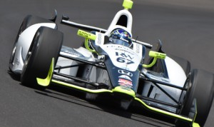 Josef Newgarden topped the charts on the final full day of practice for the Indianapolis 500 on Monday at Indianapolis Motor Speedway. (Al Steinberg Photo)
