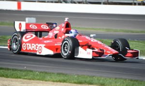 Scott Dixon was the fastest man in town during the opening day of practice for the inaugural Grand Prix of Indianapolis at Indianapolis Motor Speedway Thursday. (Al Steinberg Photo)