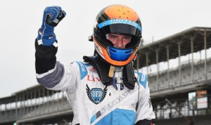 Matthew Brabham scored his first Indy Lights victory Friday on the Indianapolis Motor Speedway road course. (Al Steinberg Photo)