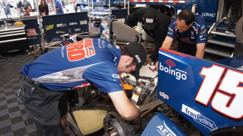 Brian Goslee's efforts as the lead mechanic for Graham Rahal's No. 15 car, he hopes, will lead the team to victory lane in Sunday's Indianapolis 500.