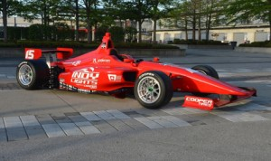 The new Dallara IL-15 chassis was unveiled Thursday at Indianapolis Motor Speedway. (Indy Lights Photo)