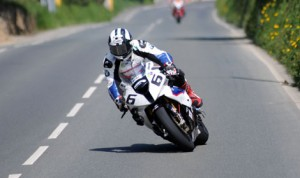 Michael Dunlop captured the Dainese Superbike victory as part of the Isle of Man TT Saturday. (IOM TT Photo)