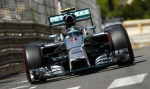 Nico Rosberg earned the pole for Sunday's Monaco Grand Prix at Circuit de Monaco. (Mercedes Photo)