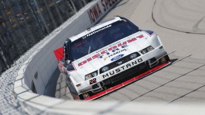 Ryan Blaney won the pole for Sunday's Get To Know Newton 250 at Iowa Speedway. (HHP/Harold Hinson photo)