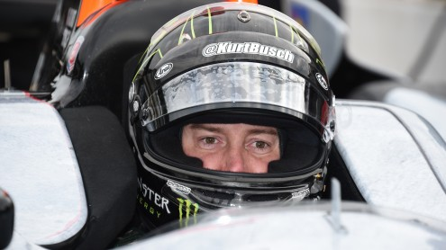 2004 NASCAR Sprint Cup champion Kurt Busch qualified 12th for his first Indianapolis 500. (Al Steinberg photo)