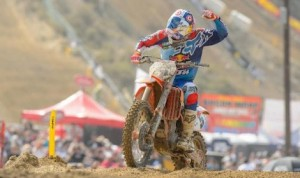 Ryan Dungey won Saturday's Lucas Oil Pro Motocross opener at the Red Bull Glen Helen National. (Simon Cudby photo)