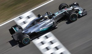 Lewis Hamilton earned yet another pole on Saturday at Circuit de Cataluyna. (Mercedes Photo)