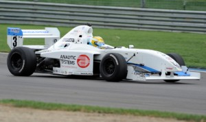 Scott Hargrove survived multiple challenges to earn his first Pro Mazda Championship victory Friday on the Indianapolis Motor Speedway road course. (Don Figler Photo)