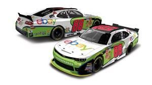 A rendering of Dale Earnhardt Jr.'s No. 88 eBay Chevrolet that the two-time Daytona 500 champion will drive on June 14 in the NASCAR Nationwide Series race at Michigan Int'l Speedway.