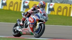 Jonathan Rea captured two wins Sunday in Imola to take the World Superbike Championship lead. (SBK photo)