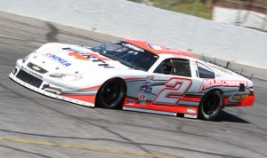 Trevor Noles is among the top contenders as the PASS South Super Late Models visit Southern National Motorsports Park this weekend. (Adam Fenwick Photo)