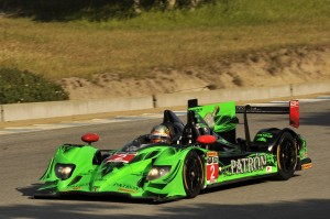 Ed Brown and Johannes van Overbeek took the win at Mazda Raceway Laguna Seca on Sunday. (IMSA photo)