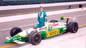 Eliseo Salazar, pictured before one of his Indianapolis 500 starts, will take part in the Indy Pro-Am June 8. (IndyCar photo)