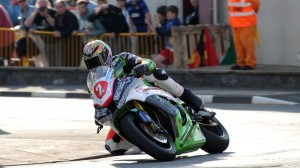 Bruce Anstey paced day two of Isle of Man TT qualifying on Tuesday. (IOM TT photo)