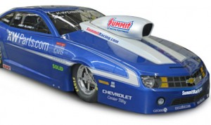 Summit Racing Equipment will sponsor Jimmy Alund as he chases his ninth FIA Pro Stock Championship this year.