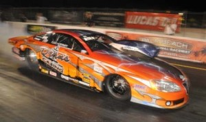 Todd Hoerner topped the IHRA Nitro Jam Pro Stock field Friday at Palm Beach Int'l Raceway. (IHRA Photo)