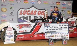 Will Vaught captured Friday's Lucas Oil MLRA feature at Outlaw Motorsports Park in Oklahoma. (The Wheatley Collection Photo)